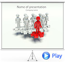 Team Building Animated PowerPoint Template