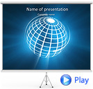 Global Communication Animated PowerPoint Templates