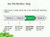 Green Idea Animated PowerPoint Template - Slide 3