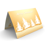 New Year Forest Christmas Cards