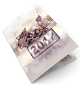 Silver Dragon Christmas Cards