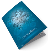 Snowflakes Christmas Cards