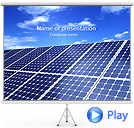 Solar Battery Animated PowerPoint Template
