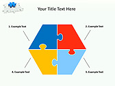 Missing Blue Puzzle Animated PowerPoint Template - Slide 11