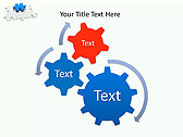 Missing Blue Puzzle Animated PowerPoint Template - Slide 16