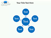 Missing Blue Puzzle Animated PowerPoint Template - Slide 21