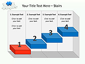 Missing Blue Puzzle Animated PowerPoint Template - Slide 7