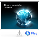 Sunny Earth Animated PowerPoint Template