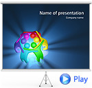 Colorful Teamwork Animated PowerPoint Templates