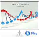 Complementary DNA Animated PowerPoint Template