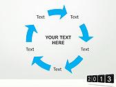 2013 Calendar Animated PowerPoint Templates - Slide 20