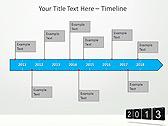2013 Calendar Animated PowerPoint Templates - Slide 6