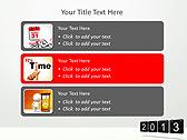2013 Calendar Animated PowerPoint Templates - Slide 8