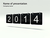 2014 Calendar Animated PowerPoint Templates - Slide 1
