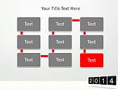 2014 Calendar Animated PowerPoint Templates - Slide 26