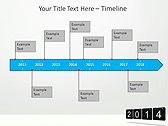 2014 Calendar Animated PowerPoint Templates - Slide 6