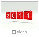 Red 2011 Calendar Video