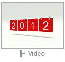 Red 2012 Calendar Video
