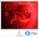Blood Animated PowerPoint Template