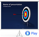 Darts Animated PowerPoint Template