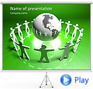 Worldwide Communications Animated PowerPoint Template