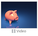 Piggy Bank and Coin Video