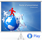 Discovering the World Animated PowerPoint Template