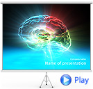 Human Brain Animated PowerPoint Template