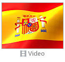 Flag of Spain Video