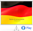 Flag of Germany Animated PowerPoint Templates