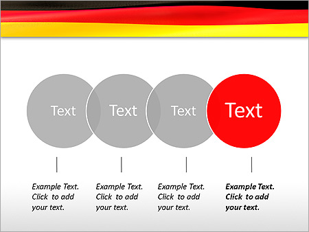 Flag of germany animated powerpoint template design id 0000003125 flag of germany animated powerpoint template slide 10 toneelgroepblik Images