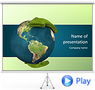 Environment Protection Animated PowerPoint Template