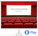 Cinema Animated PowerPoint Templates