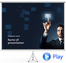 Sensor Screen Animated PowerPoint Template