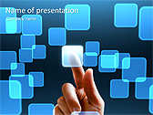 New Technology Animated PowerPoint Template - Slide 1