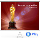 Oscar Awards Animated PowerPoint Template
