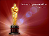 Oscar awards animated powerpoint template design id 0000003144 oscar awards animated powerpoint template slide 1 toneelgroepblik Gallery