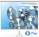 Gear Animated PowerPoint Templates