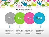 Colorful Hands Animated PowerPoint Template - Slide 10