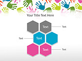 Colorful Hands Animated PowerPoint Template - Slide 12