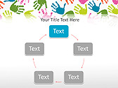 Colorful Hands Animated PowerPoint Template - Slide 13