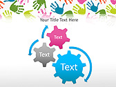 Colorful Hands Animated PowerPoint Template - Slide 16