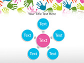 Colorful Hands Animated PowerPoint Template - Slide 21