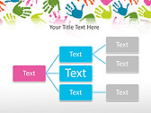 Colorful Hands Animated PowerPoint Template - Slide 22