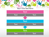Colorful Hands Animated PowerPoint Template - Slide 23