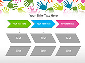 Colorful Hands Animated PowerPoint Template - Slide 25