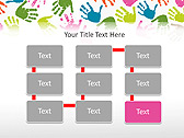 Colorful Hands Animated PowerPoint Template - Slide 26