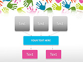 Colorful Hands Animated PowerPoint Template - Slide 27