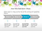 Colorful Hands Animated PowerPoint Template - Slide 3