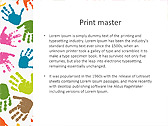 Colorful Hands Animated PowerPoint Template - Slide 35